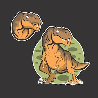 Logo dinozaura