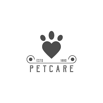 Logo dla społeczności zajmującej się opieką nad zwierzętami
