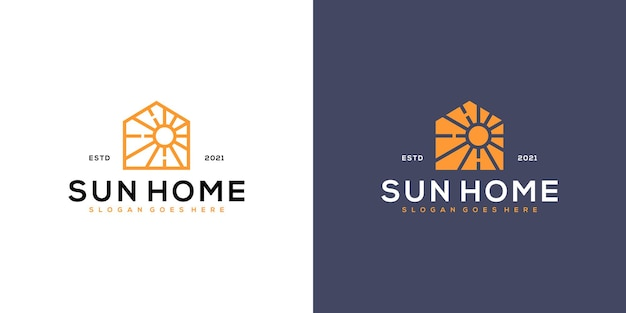 Logo domów słonecznych