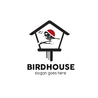 Logo domu ptaków
