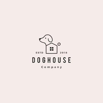 Logo domu zwierzaka psa