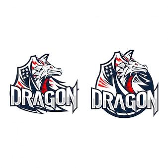 Logo dragon esport