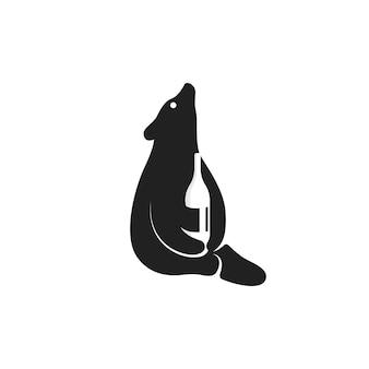 Logo drink wine wine
