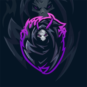 Logo drużyny e-sportowej grim reaper
