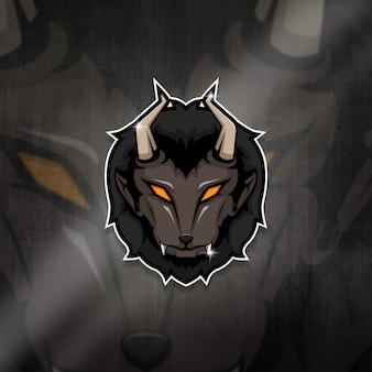 Logo drużyny esports maskotka beast squad