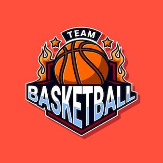 Logo drużyny koszykówki