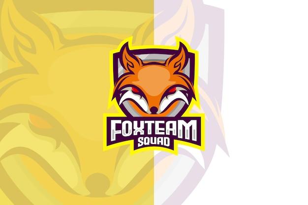 Logo drużyny lisów