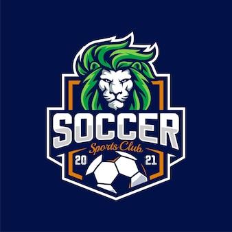 Logo drużyny lwa piłki nożnej