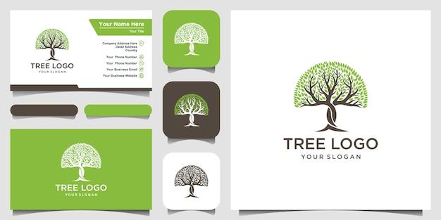 Logo drzewa