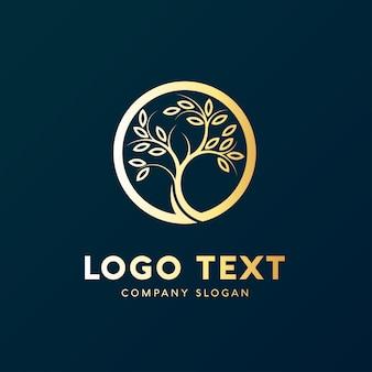 Logo drzewo natura