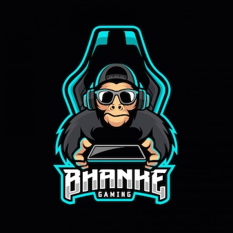 Logo e-małpy