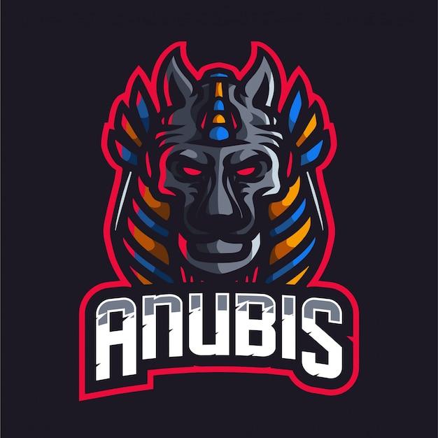 Logo e-sport anubis