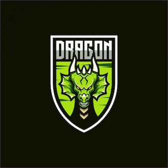 Logo e-sport dragon
