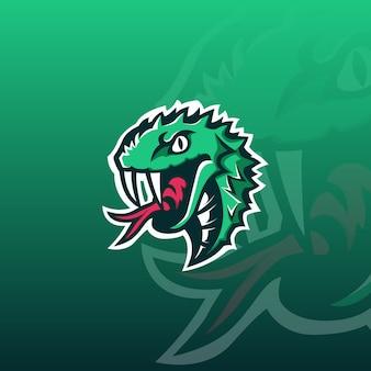 Logo e-sportowego węża