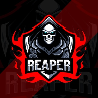 Logo e-sportowej maskotki reaper
