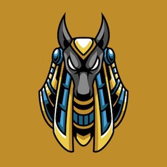Logo e-sportu anubis