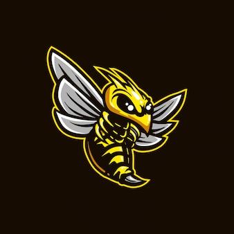 Logo e-sportu dla pszczół