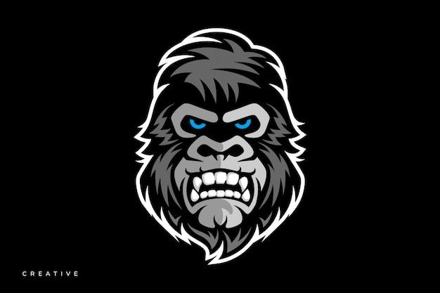 Logo e-sportu goryla