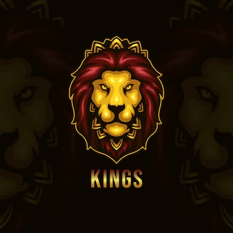 Logo e-sportu króla lwa