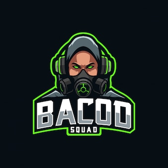 Logo e-sportu maskotki