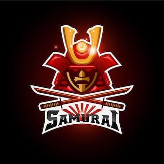 Logo e-sportu samuraja