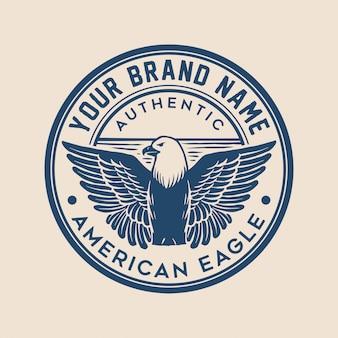 Logo eagle badge