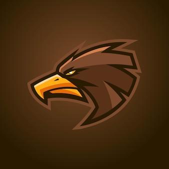 Logo Eagle Esports Premium Wektorów