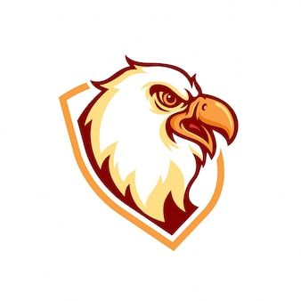Logo eagle maskotka