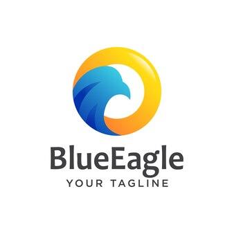 Logo eagle nowoczesne proste