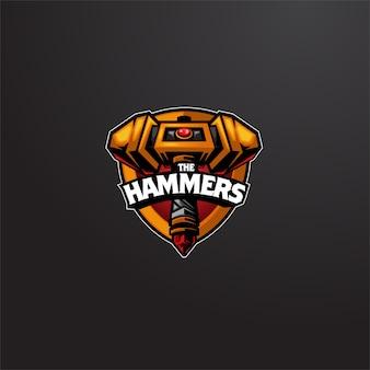 Logo esport hammers