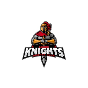 Logo esport legion knight