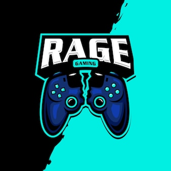 Logo esport maskotki joysticka