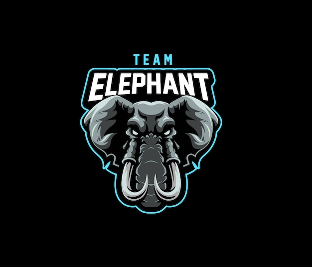 Logo esport team elephant