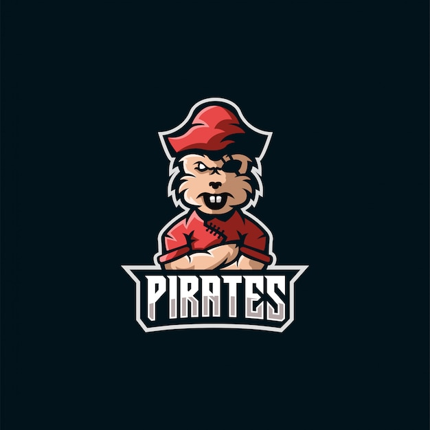 Logo esportów piratów