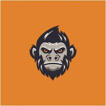 Logo esportu małpy
