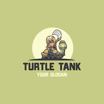 Logo esportu zbiornika żółwia
