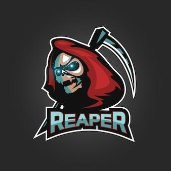 Logo esportu żniwiarza