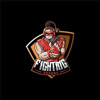 Logo fighting esport