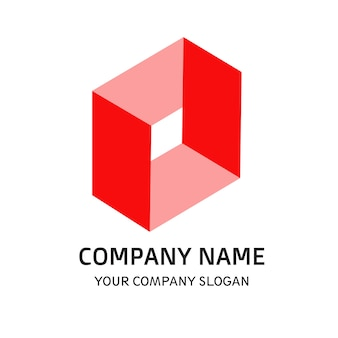 Logo firmy czerwony kolor