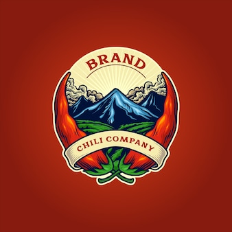 Logo firmy papryka chili