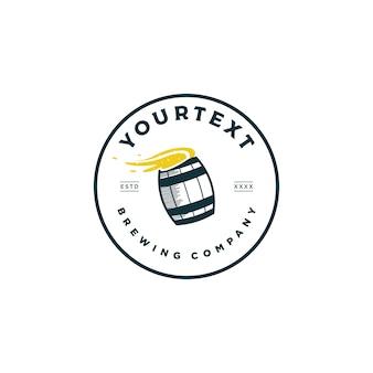 Logo firmy piwowarskiej