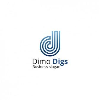 Logo firmy szablonu