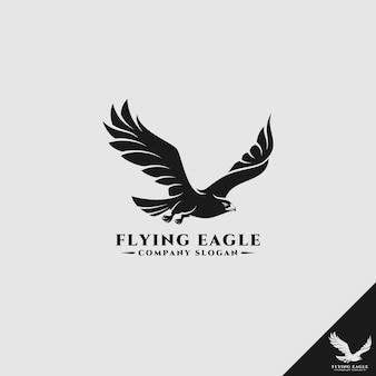 Logo flying eagle / falcon