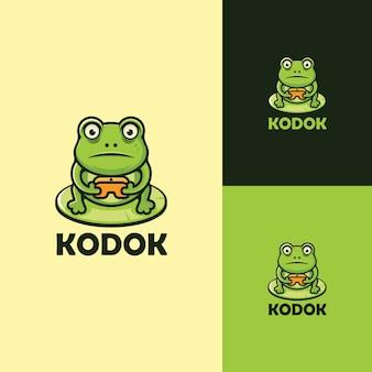 Logo frog
