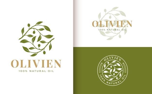 Logo gałązki oliwnej