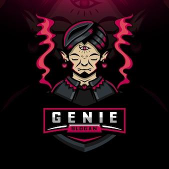 Logo genie smoky esport