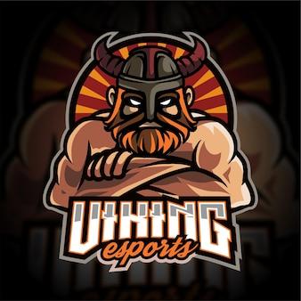 Logo gier e-sportowych viking