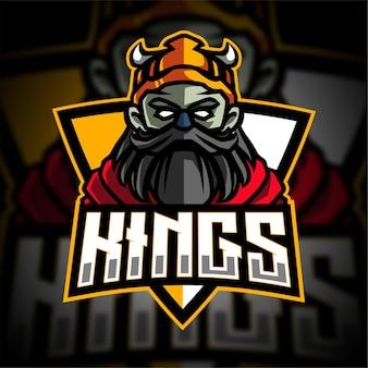 Logo gier king esport