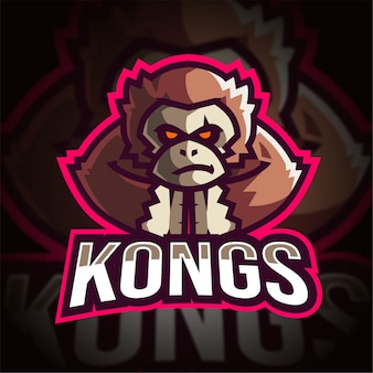 Logo gier kong esport