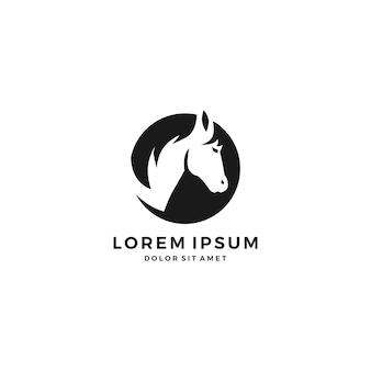 Logo głowy konia